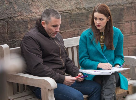 Anna Passey, who plays Sienna, teased her 'unexpected kiss' with Greg Wood, who plays Trevor, confirming it will happen