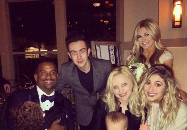 Alfonso Ribeiro was one of the guests at Witney Carson's wedding