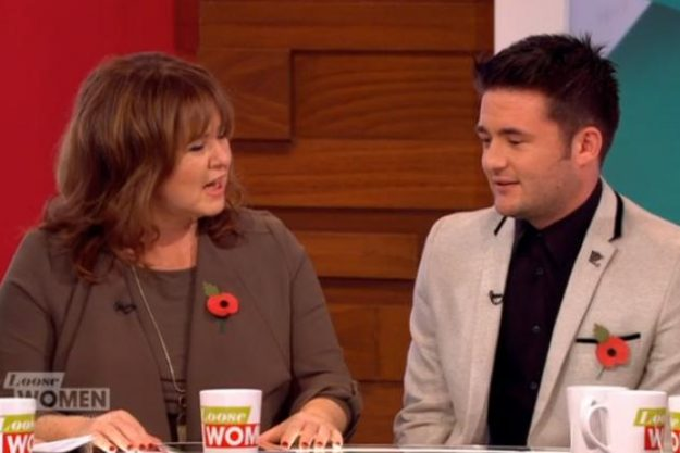 Shane Richie Jr on Loose Women with Coleen
