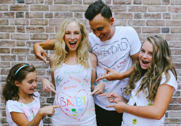 Candice Accola King and Joe King announced the news she was pregnant on Instagram