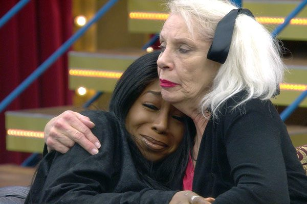 Tiffany became emotional as Angie comforted her