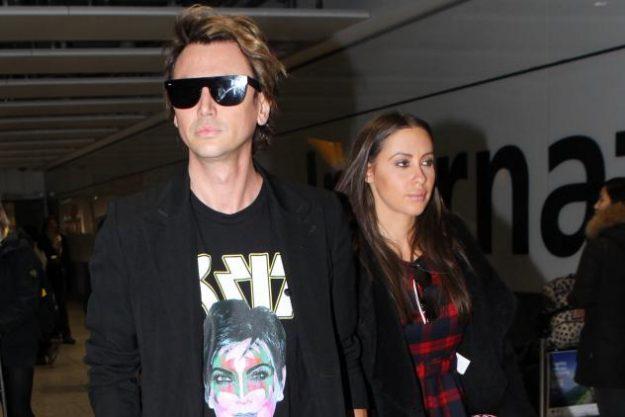 Jonathan wore a Kris Jenner t-shirt