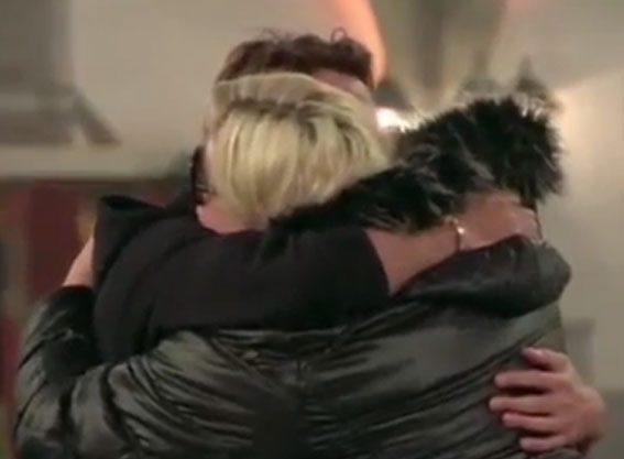 Gemma Collins was left emotional by her pal's exit, and the pair hugged it out