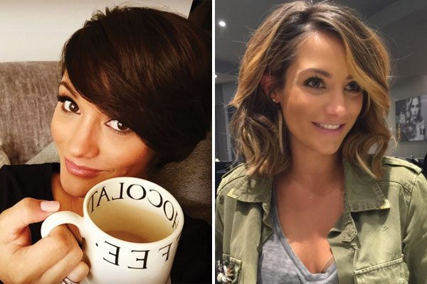 Frankie Bridge switches it up while pregnant