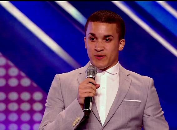Jahméne Douglas when he was on The X Factor