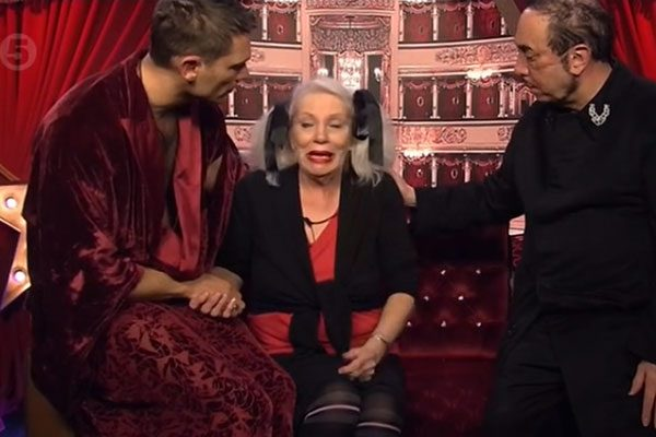 Angie was given support from fellow Celebrity Big Brother housemates John Partridge and David Gest