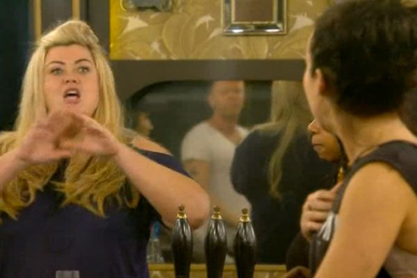 Stephanie calls Gemma 'vile' and the pair have a heated row