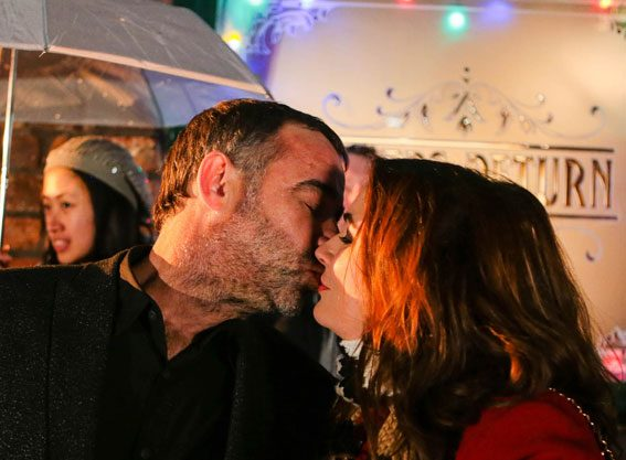 Kevin Webster and Anna Windass will share a kiss during New Year's Eve