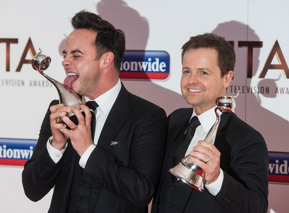 Ant and Dec were certainly not a surprise