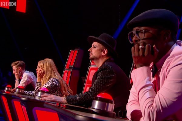 The Voice coaches made their debut on the new series of the show over the weekend