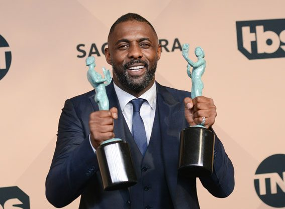 Idris Elba won two SAG Awards for Best Supporting Actor and Best Actor in a limited series