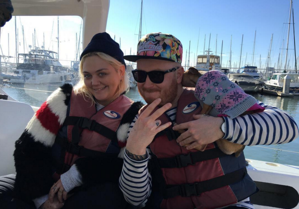 Elle King revealed she was wearing her