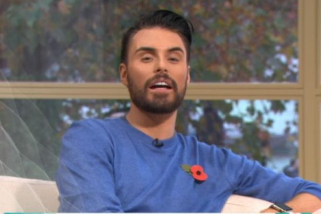 Rylan was talking about his upcoming showbiz news