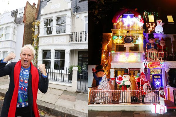 Jamie Laing teams up with NOW TV to prank Binky Felstead, giving her house a festive makeover inspired by his favourite Christmas movie moments, all available with the NOW TV Sky Movies Month Pass