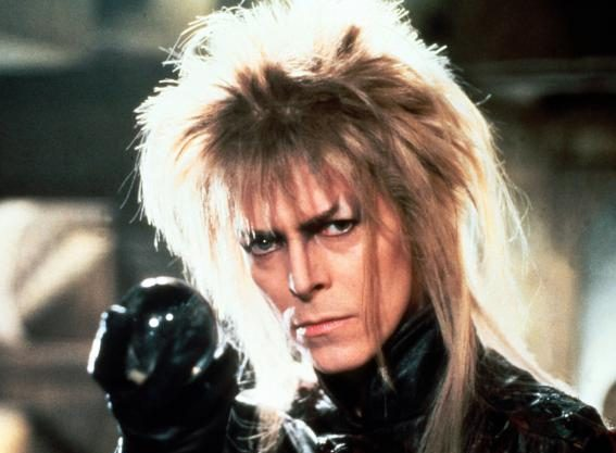 David Bowie in the 1986 film Labyrinth