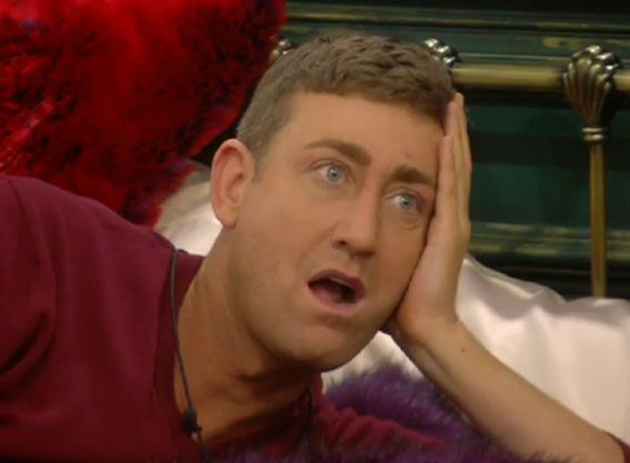 Christopher Maloney had to help the girls find their stuff