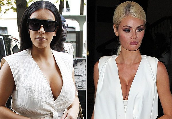 Chloe Sims and Kim Kardashian certainly aren't shy when it comes to baring all in an outift
