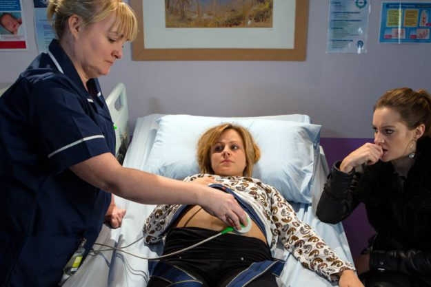 Ahead of the dramatic scenes, Sarah will suffer a pregnancy scare