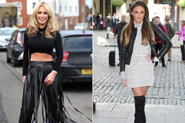Kate Wright hit out at Megan McKenna during the TOWIE pub quiz