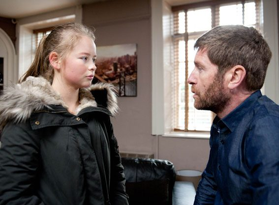 Liv will seek answers from her dad Gordon on Emmerdale next week