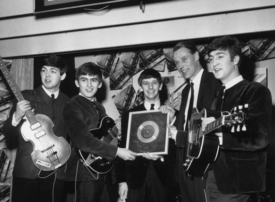 Sir George was most famous for his work with The Beatles