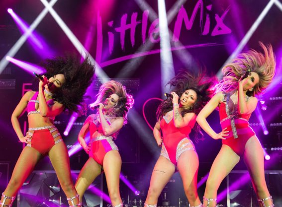 Little Mix kicked off their Get Weird tour in Cardiff