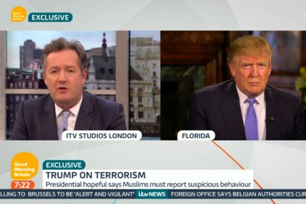 Piers Morgan interviewed the politician on Good Morning Britain, and insisted he wasn't 'anti-Muslim'