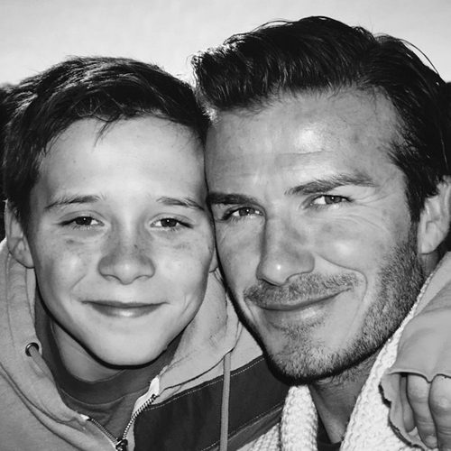 David Beckham shared an emotional tribute to son Brooklyn on his 17th birthday