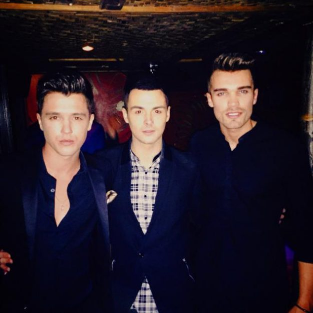 Jaymi, Josh and JJ kicked George out of Union J