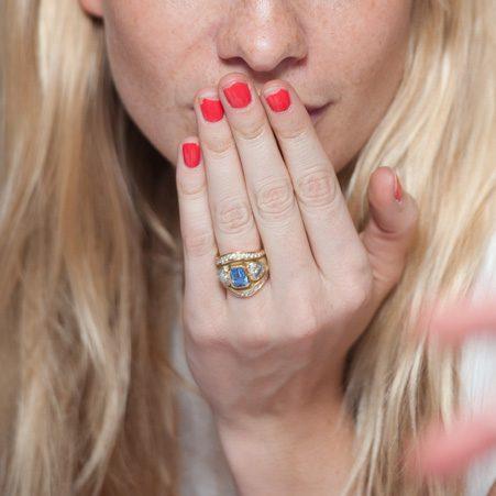 We love Poppy Delevingne's unique ring