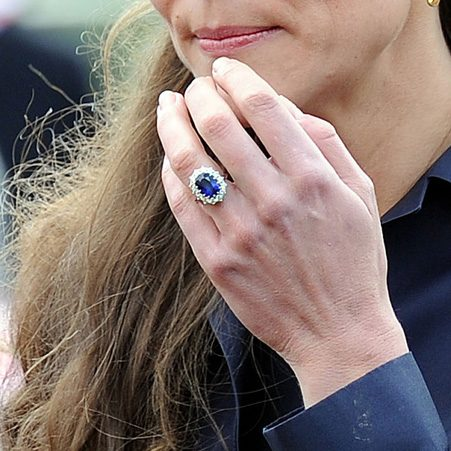 Prince William proposed to the Duchess of Cambridge with his mother's engagement ring