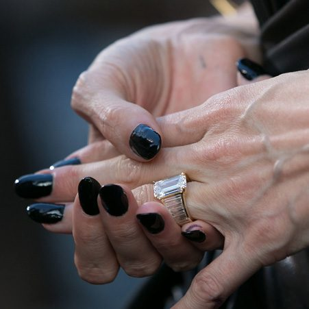 Brad Pitt personally designed Angelina Jolie's oblong-shaped ring