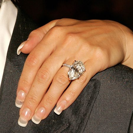 Victoria Beckham has a number of different engagement rings