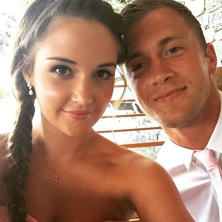 Jacqueline Jossa shuts down rumours that she and Dan Osborne are having a Christmas wedding