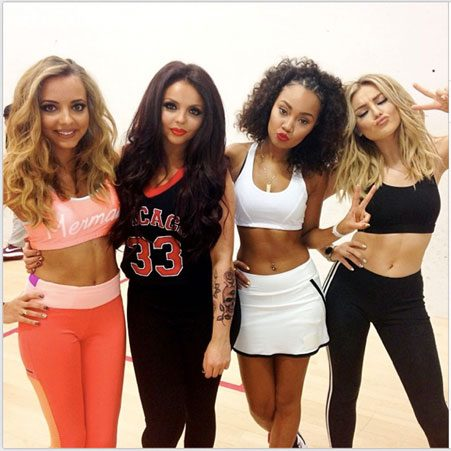 Little Mix will be supporting One Direction on their Where We Are Tour
