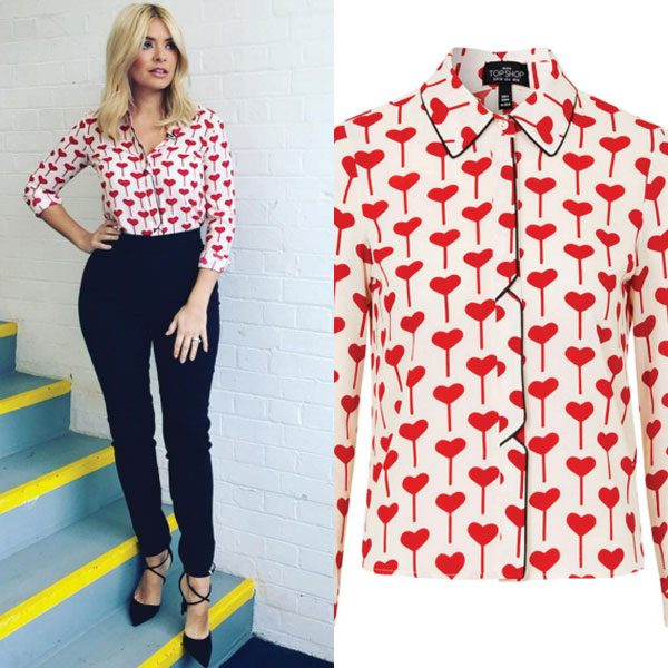 Holly Willoughby reveals she shops in Topshop