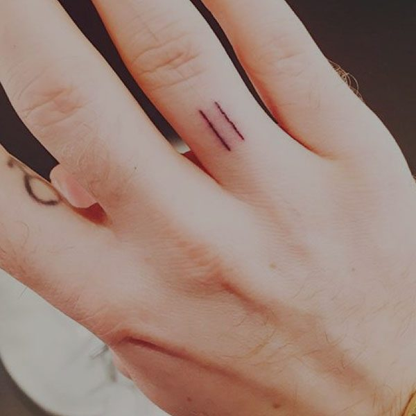 Horizontal Line Tattoo: Sam Smith Reveals Significance Of New 'alone' Tattoo On
