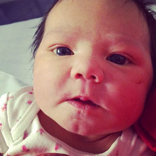 Coleen called her new grandchild 'absolutely stunning'