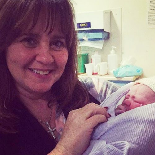 Coleen Nolan has become a grandmother for the first time