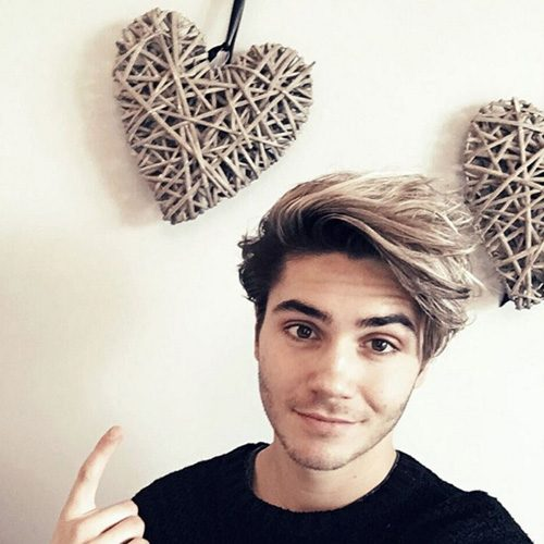 George Shelley revealed he needs a date for Valentine's Day