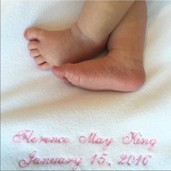 Candice Accola King has given birth