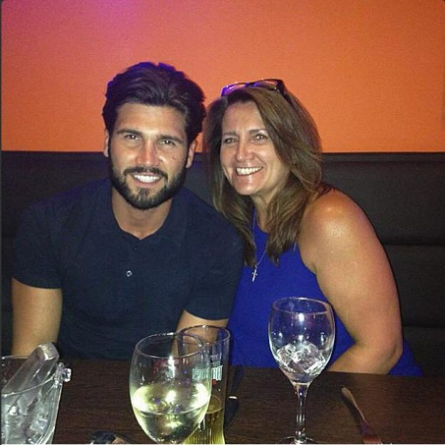 Dan Edgar left the pub quiz early to take his mum Wendy for birthday dinner