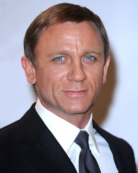 Daniel Craig plays Bond for the second time