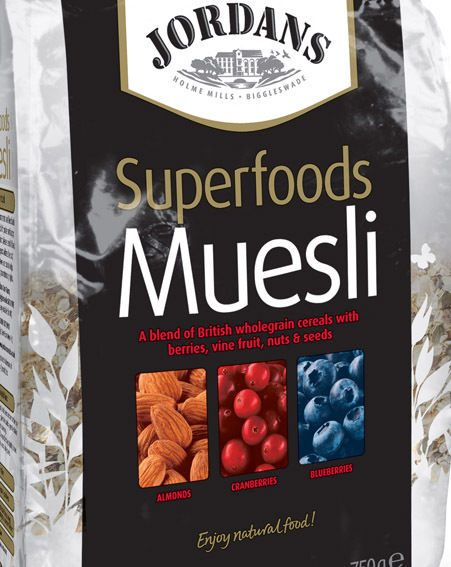 Jordans The Superfoods Muesli, £3.85
