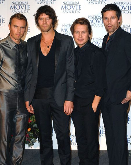 Reformed group Take That also have four nominations