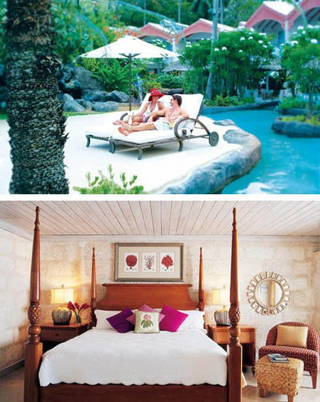 The Colony Club Hotel offers amazing pools and stylish rooms