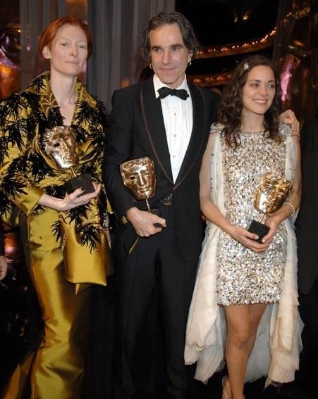 Tilda Swinton, Daniel Day Lewis and Marion Cotillard