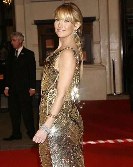 Kate Hudson wore a tight sequinned Dior dress