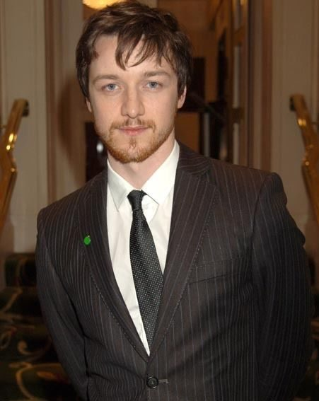 James McAvoy will be there to see if he can scoop an award