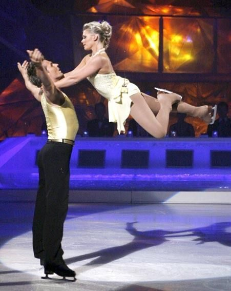 Suzanne and Chris wowed the judges with their routine